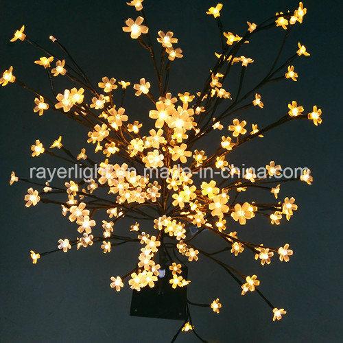 31660ff78a0 Bonsai de luz LED de árbol de Navidad Decoración Hogar Decoración de Navidad