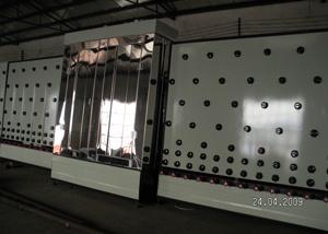 Glazen wasmachine