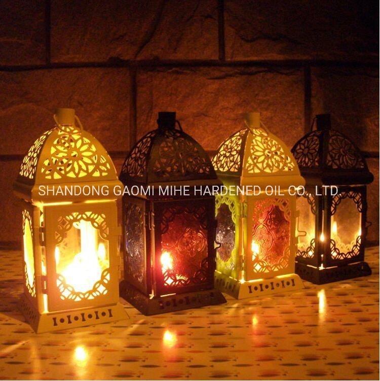 Escavazione fuori del supporto di candela di arte del metallo, supporto di candela di Tealight