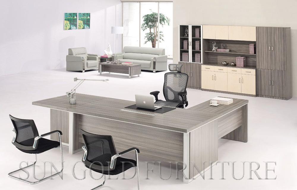 Tableau en bois contemporain d ordinateur de meubles de bureau de
