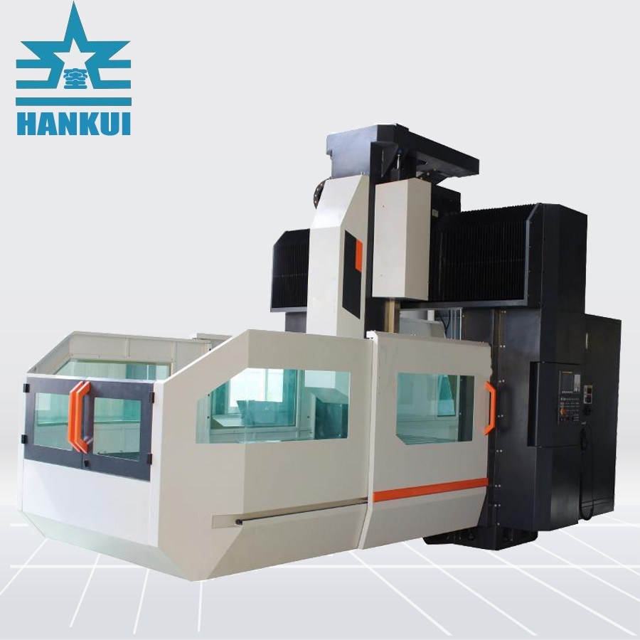 CNC-Präzisionsfräsen Gantry-Maschinenmitte