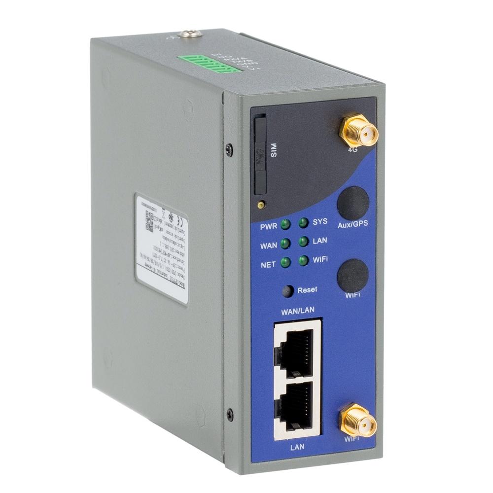 WiFi DIN 가로장 마운트에 산업 M2m Lte VPN 4G 대패 전산 통신기 RS232 RS485