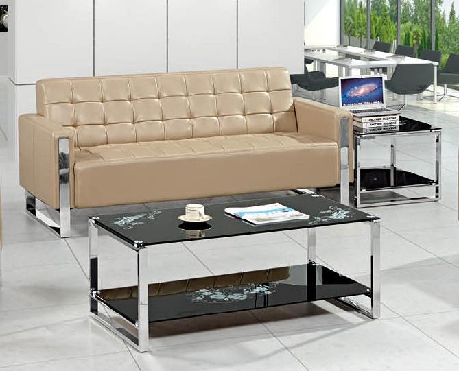 Salon moderne de meubles de bureau unique de tissu coloré ...