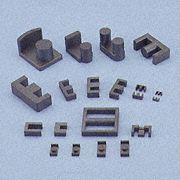 연약한 알파철 중핵, 자석, 자석 물자