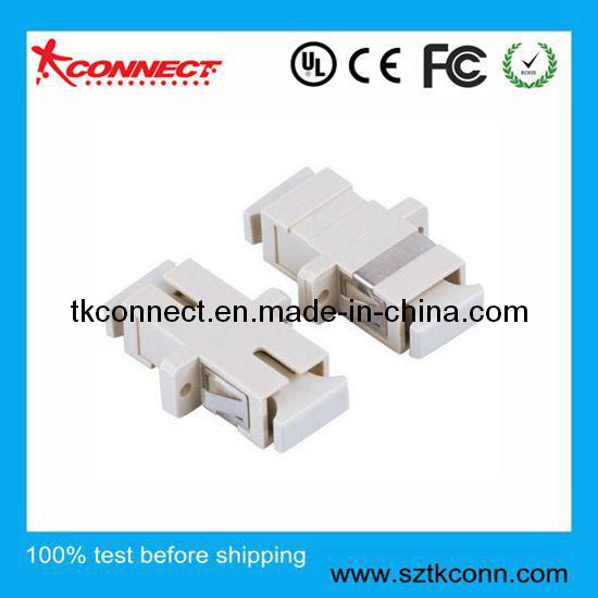 M SC Simplex Adaptador de fibra óptica de adaptador de fibra óptica