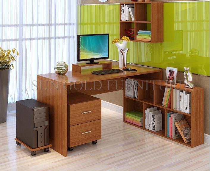 Bureau moderne haut de gamme bureau laque noir et blanc mignon
