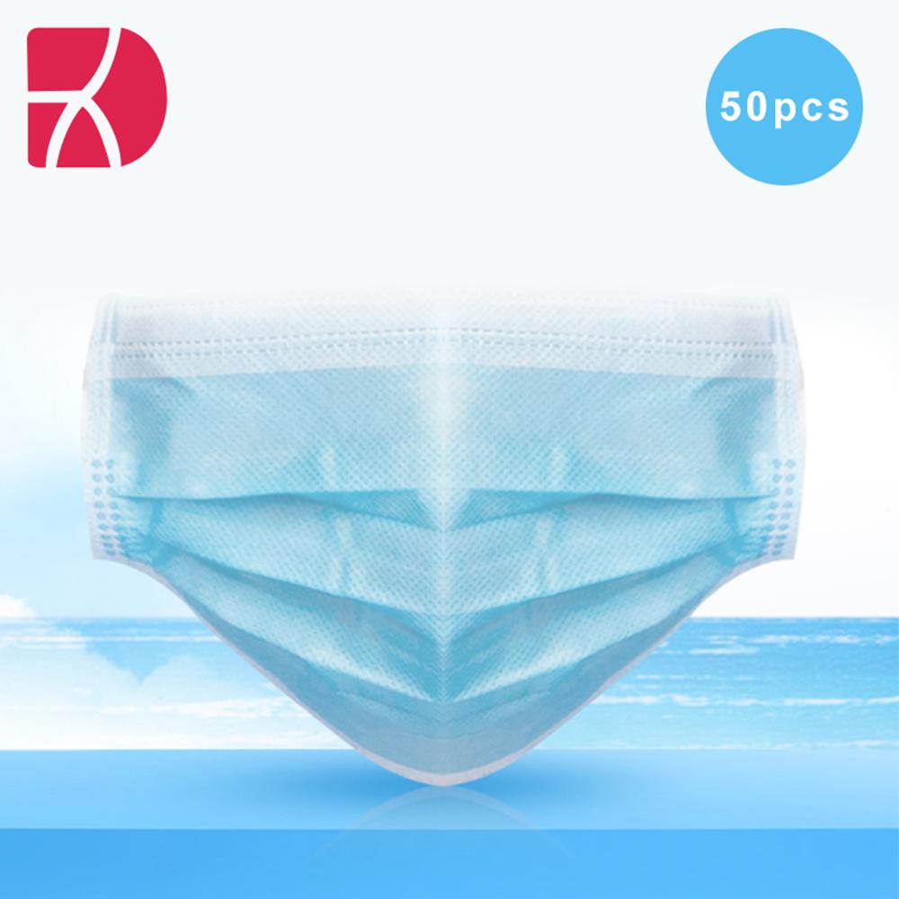 Gezichtsmasker in IIR-type van leverancier in witte lijst