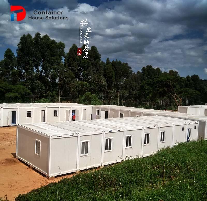 Camera modulare prefabbricata vivente mobile del contenitore