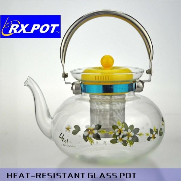 Empfindlicher hitzebeständiger Glaskaffee-Potenziometer/Tee-Potenziometer