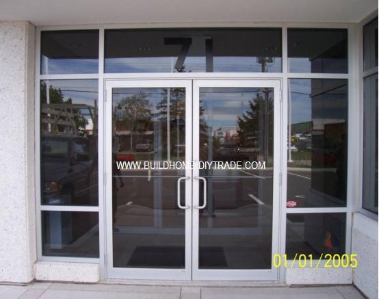 La Puerta De Aluminio Cristal Comercial La Puerta De