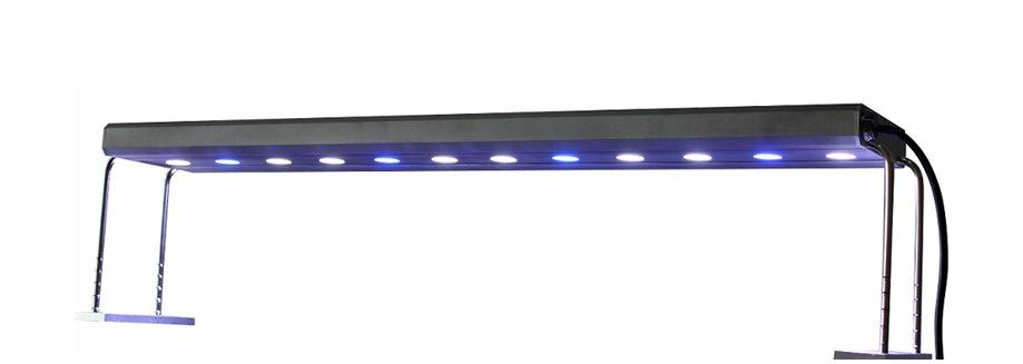 Светодиодный индикатор аквариум тени колонки для морской воды аквариумы Аквариум Аквариум светодиодного освещения освещение