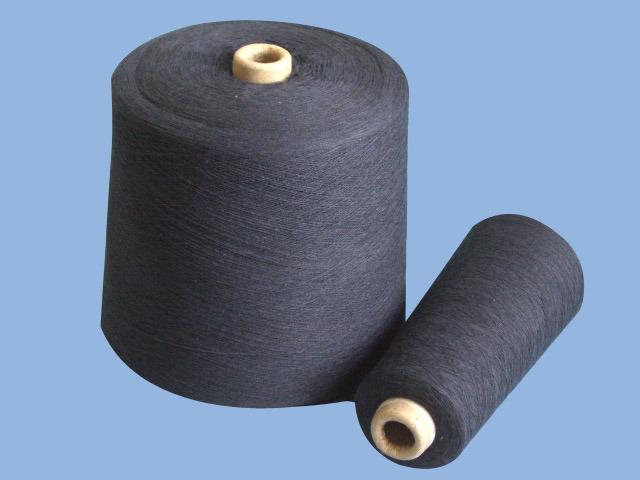 La marina de hilados de calcetín reciclado caliente