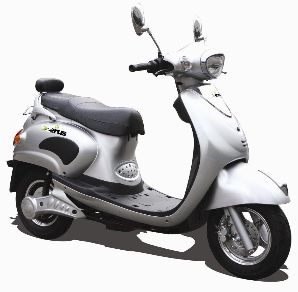EECおよびCOCの電気オートバイ