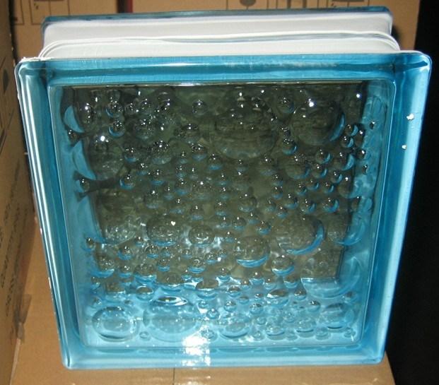 Het Blok van het Glas van de Bel van het Water van de saffier
