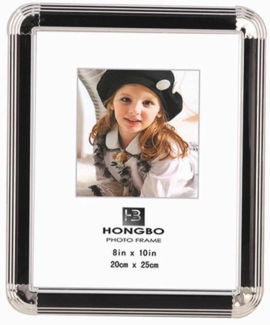 Cadre photo PVC (LF046S-noir)