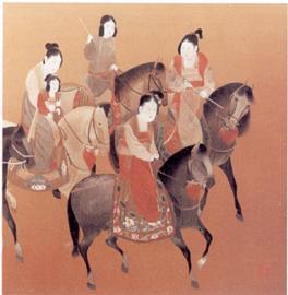 従来の絵画(刺繍およびKesi) - 2