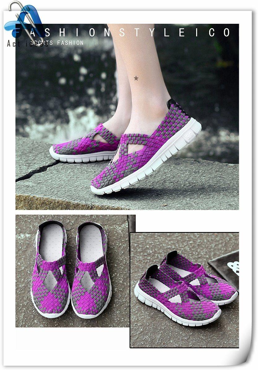 Foto De Venta Caliente Plana Damas Bellas Damas Zapatos Casual