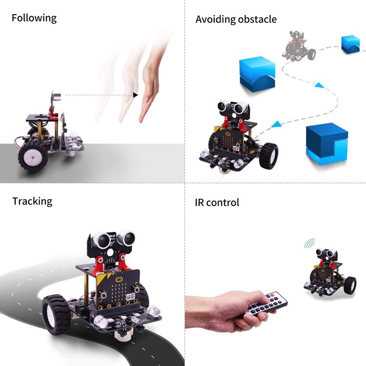 Niños De Coche Inteligente Robot Para MicroPoco Kit Los Foto POZiTXuk