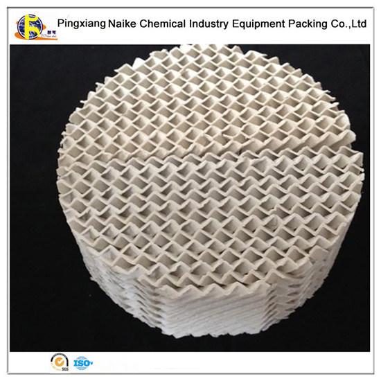 Высокоэффективные керамические структурированных упаковки для заведомый провоз иностранного гражданина и дистилляция