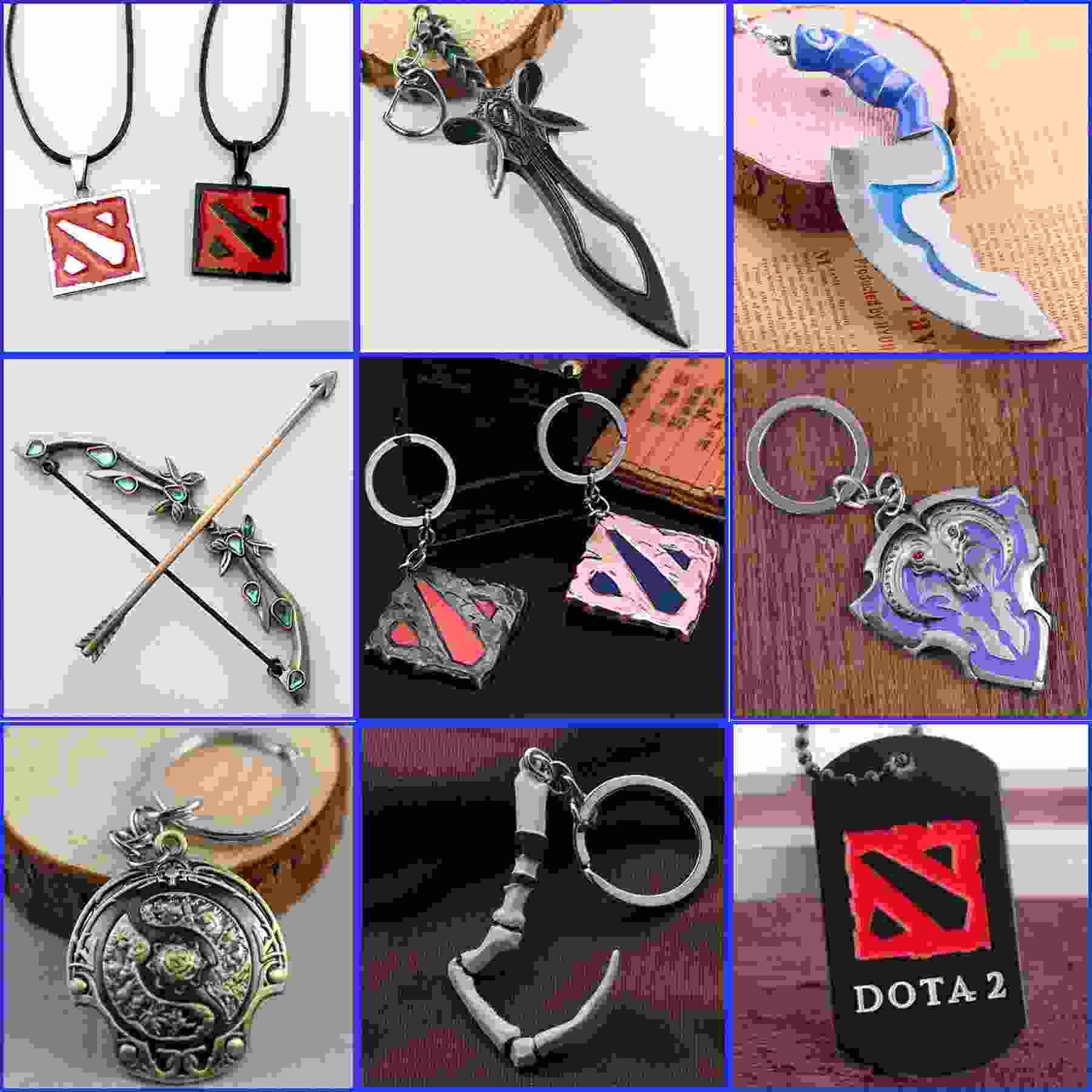 Dota2 цепочки ключей