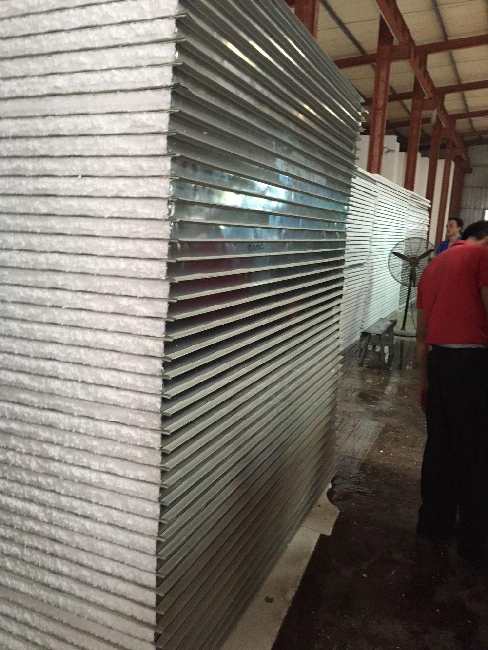 Foto de prefabricados panel s ndwich de espuma de eps for Paredes prefabricadas