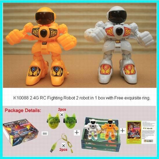 2.4G RC Fighting Robot