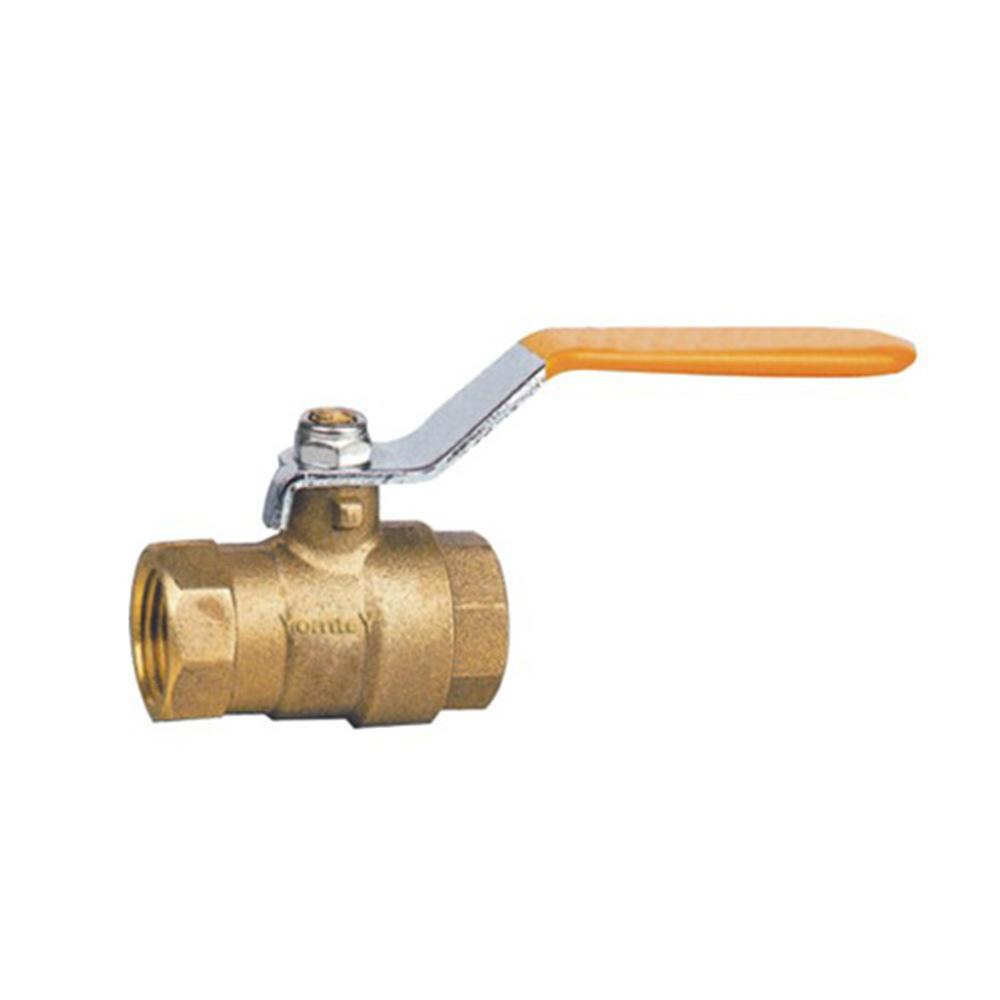 Valvola a sfera d'ottone professionale progettata del gas della valvola a sfera per gas