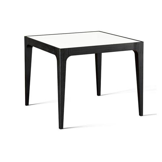 Ес квадратный обеденный стол MDF верхней части таблицы с цельной древесины рамы для Gemany и Франции на рынке таблица