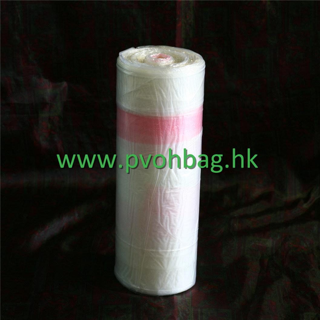 PVA Saco solúvel em água solúvel totalmente biodegradável e totalmente Saco Dissolvable em um rolo para controlo das infecções nos hospitais
