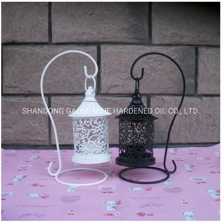 Escavazione fuori del supporto di candela domestico della decorazione, supporto di candela