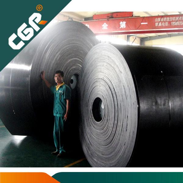 Pvg de PVC y cinta transportadora de minas de carbón