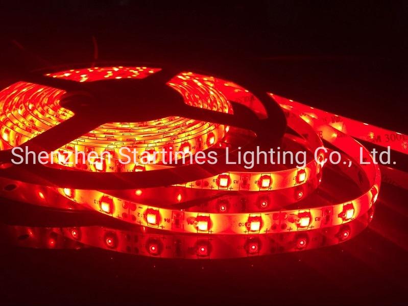 옥외 훈장 빛 LED 점화 크리스마스 훈장 LED 빛 5 년 보장 LED 높은 광도 3528 단 하나 색깔 유연한 지구 빛 크리스마스