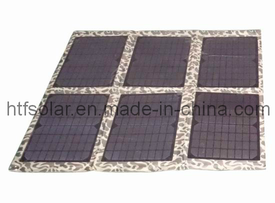 太陽電池パネルの充電器袋12Vの鉛酸蓄電池の充電器の太陽充電器を折る60W
