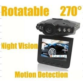 "HD720p 2.4 "" LCD 8xdigital 급상승은 차를 위한 비행 기록 장치를 검출한다"