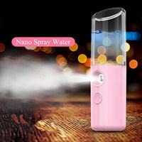 Spray-Gesichtskarosserien-Zerstäuber-Dampfer-befeuchtende Haut-Sorgfalt-Befeuchter-Instrumente des Nebel-Sprüher-MiniNano beweglicher Gesichts-30ml