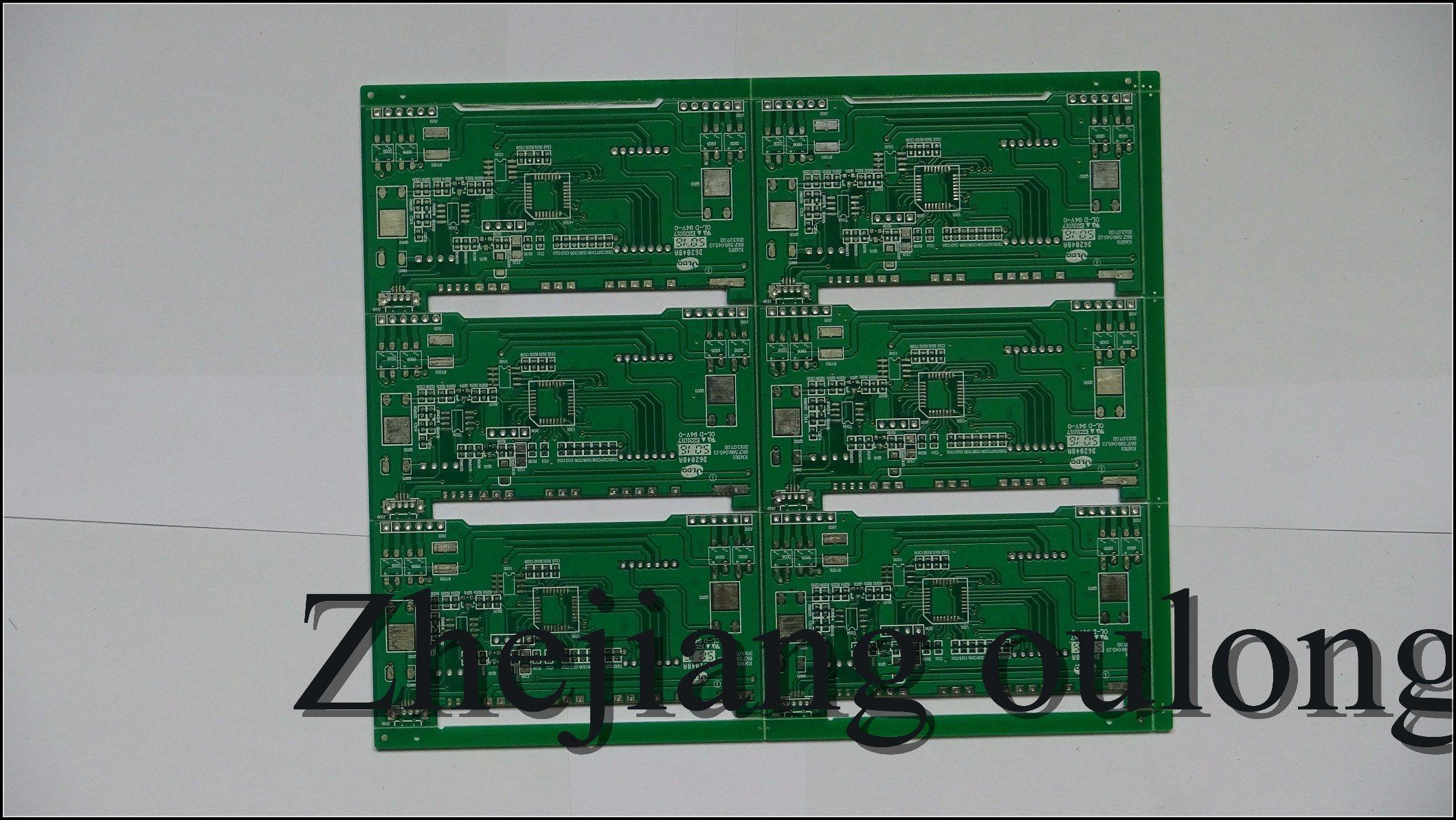 Circuito General : Foto de impreso a doble cara general las placas de circuito con ul