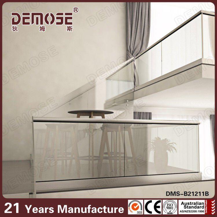 balustrade en verre int rieure faite sur commande dms. Black Bedroom Furniture Sets. Home Design Ideas