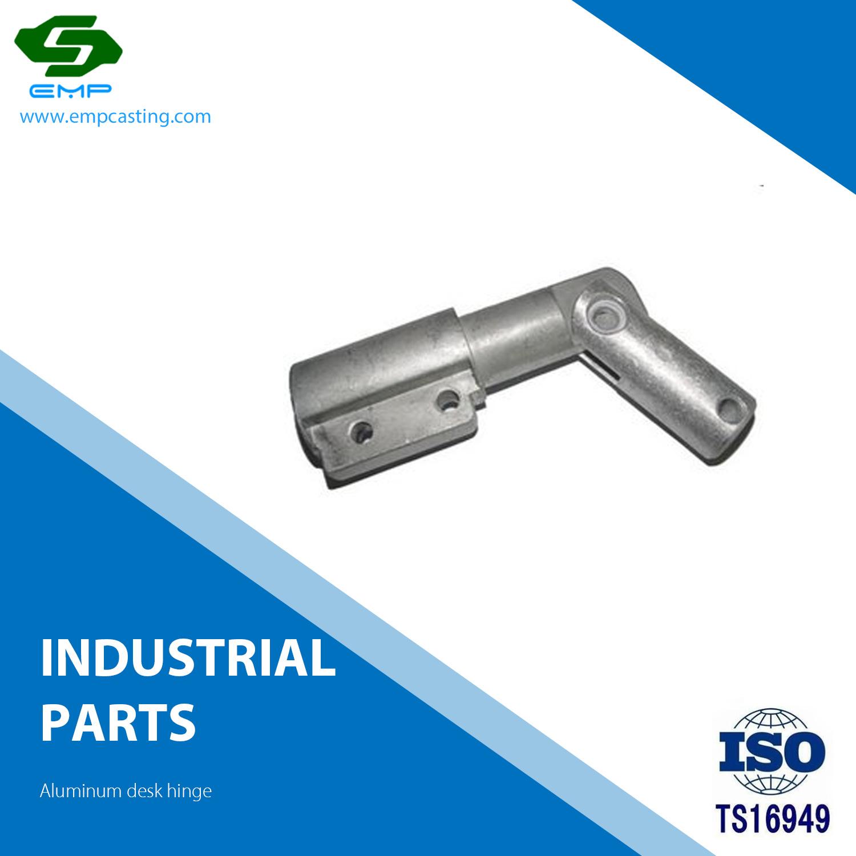 ISO/TS 16949 Fundição Industrial Dobradiça da mesa de alumínio