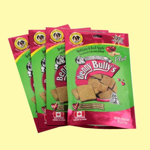 Zak van de Ritssluiting van de Zak van het Voedsel voor huisdieren de Verpakkende