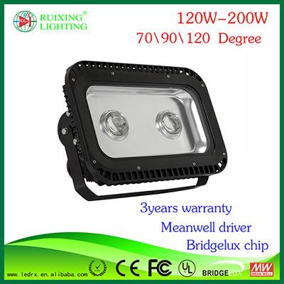 2014 Meilleur Prix de haute qualité du paysage en plein air étanche IP65 Lampe Super Bright UL 120W Projecteur à LED