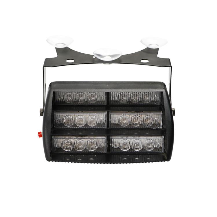 DC 12V de alta calidad de la luz estroboscópica LED LED rojo ámbar Dash lámpara de escritorio