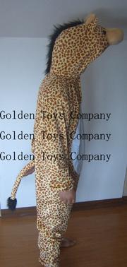 Plüsch füllte Karikatur-Kostüm/Spiel-Klage 180cm - Giraffe an (GT0024)