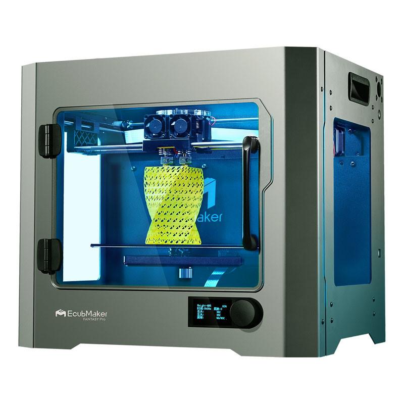 Ecubmaker imprimante 3D avec une grande construction en métal Taille : 300*200*200mm