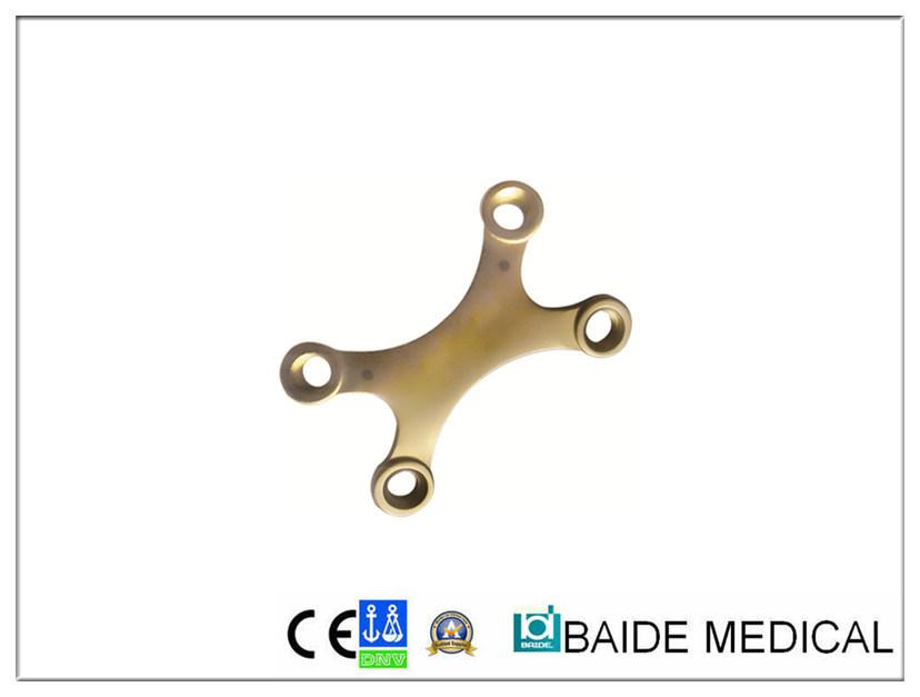 Piastra X di bloccaggio da 2,7 mm