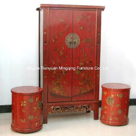 Rojo chino maravillosos muebles antiguos rojo chino for Muebles antiguos chinos