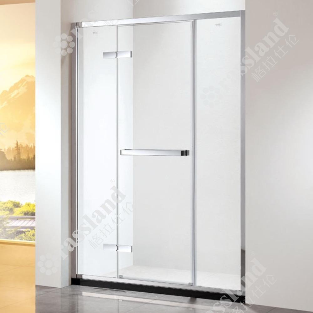 G16p21L comerciano la doccia all'ingrosso personalizzata della stanza da bagno dell'hotel di vetro Tempered di prezzi competitivi