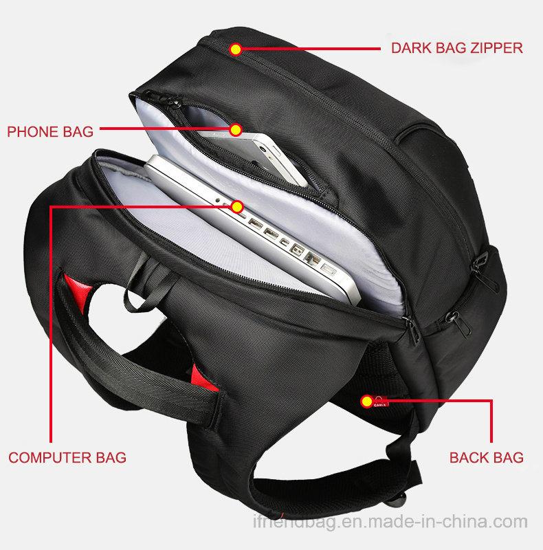 2019 Novo calculador de carregamento USB inteligente de alta qualidade Anti-Theft Saco mochila para Computador Portátil
