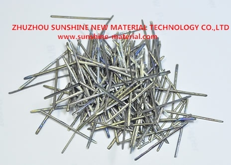 Extrait de fonte résistant à la chaleur de fibres en acier inoxydable