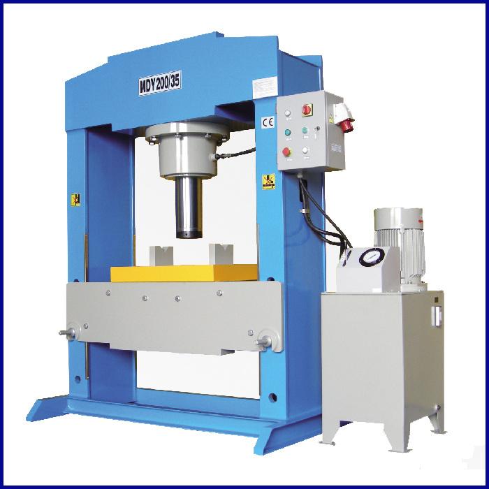 H Tipo de trama prensa eléctrica hidráulica la máquina (MDY-30, MDA ...
