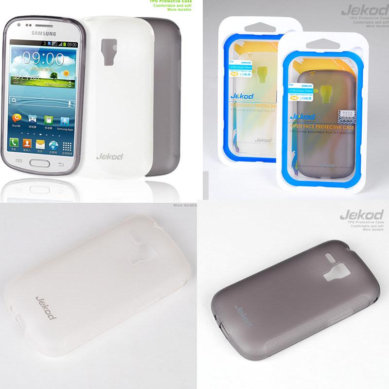 Casos de silicone para a Samsung S7562/Galaxy Tren Duos TPU caso para a Samsung